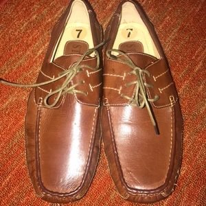 Starsax vintage new shoes Sz 7 loafer dock siders
